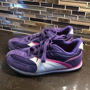 Danskin purple hot pink retro sneakers